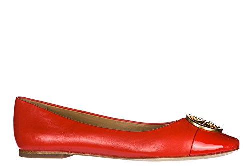 Ballerine Di Tory Burch Damen Leather Ballerine Orangene
