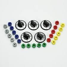 Universal Electric Range Black Knob Set - 4/Pk by ERP
