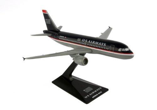 Airbus A319 Us Airways - Flight Miniatures USAir US Airways 1997-2005 Airbus A319-100 1/200 Scale REG#N700UW Display Model