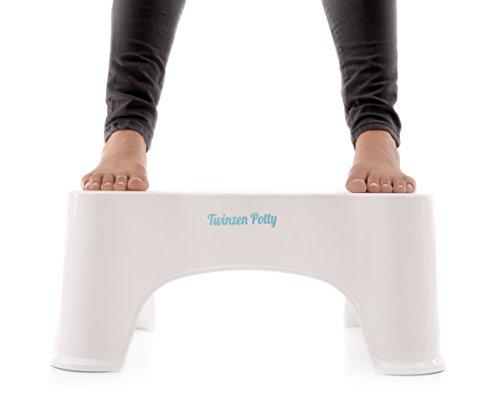 Hocker Physiologische twinzen Potty-Adopt a eine bessere Körperhaltung auf Ihre Toilette um Effektive Bekämpfung von die Probleme von Verstopfung und den verschiedenen Störungen des Transit Peptid-empfohlen von die Ärzte