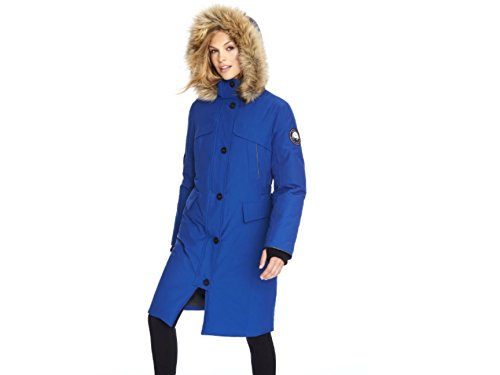 35e5b6dd0f9b Amazon.com: Alpinetek Women's Long Down Parka: Clothing