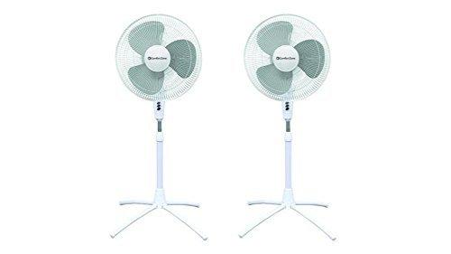 Comfort Zone CZST161BTE 16″ Pedestal Fan