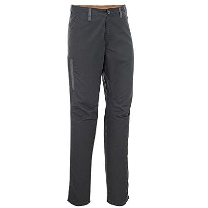 24fbae2dd0 Buy QUECHUA Men'S Plain Hiking Trousers ARPENAZ 100 - Dark Grey ...
