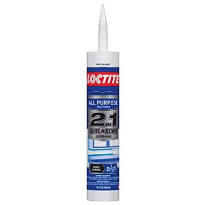 Loctite 2in1 Seal and Bond Almond All Purpose Sealant 10-Fluid Ounce Cartridge (1936542)