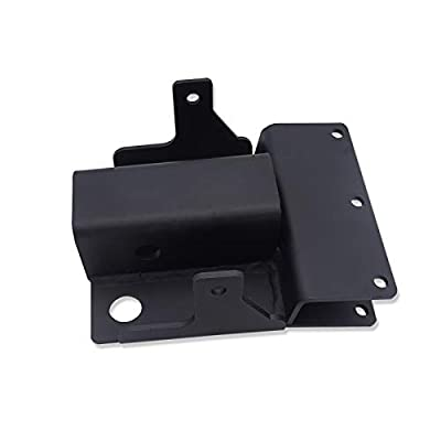 WSays for Kawasaki Mule 610 600 SX Rear 2'' Receiver Trailer Tow Hitch Plater Kit: Automotive