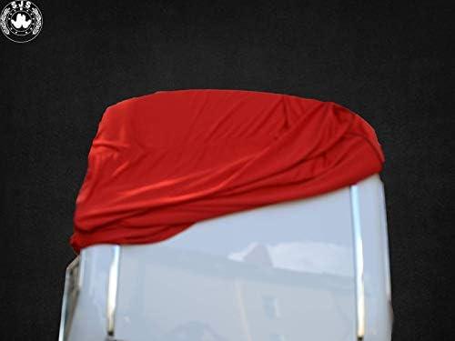 SJS CARSTYLING 911 996 997 Coque Rigide Anti-poussi/ère pour Porsche 911 Rouge