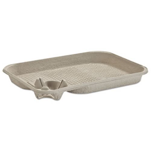 - Strongholder Molded Fiber Cup/food Tray, 8-22oz, One Cup, 200/carton