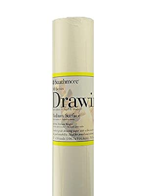 Strathmore Drawing Paper Rolls 70 lb. 42 in. x 10 yd.