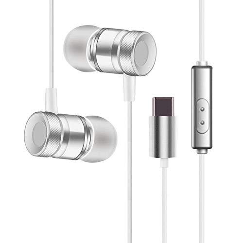 planet novelty Mic Type C Earphones for Xiaomi Huawei Smartphone