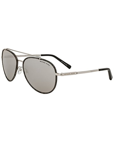 Michael Kors Womens Women's Mk1019 59Mm Sunglasses, - Michael Mirrored Kors Aviators