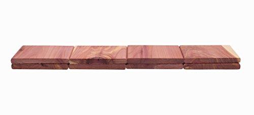 Cedar America Natural Aromatic Cedar Wood Blocks, 2-Pack (16 Blocks in total) by Cedar America (Image #3)