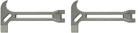 SurvivalKitsOnline 515100 On-Duty Emergency Gas and Water Shutoff 4-in-1 Tool for Earthquakes, Hurricanes, Fires, Floods, Disasters and Emergencies (2-(Pack))