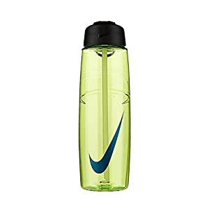 Nike 32 Ounce T1 Flow Swoosh Water Bottle (Volt/Concord)