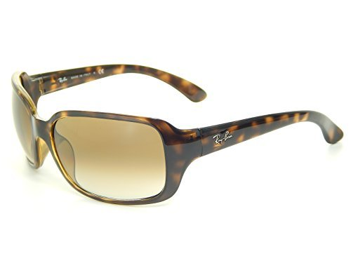 Ray Ban RB4068 710/51 Tortoise/Crystal Brown Gradient 60mm Sunglasses (Ban 4068 Sunglasses Ray)