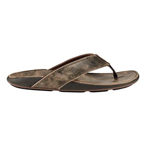 OLUKAI Men's NUI Sandal, Saddle/Saddle, 14 M ()