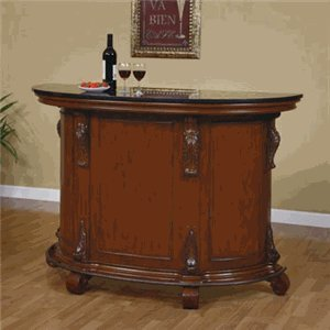 powell-bourbon-street-traditional-bar-with-black-granite-top