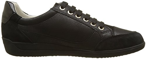 Black Myria A D Geox Sneaker Damen Schwarz 6HqnR