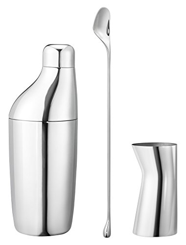 (Georg Jensen Sky 3pc Giftset, Mirror Polished Stainless Steel)