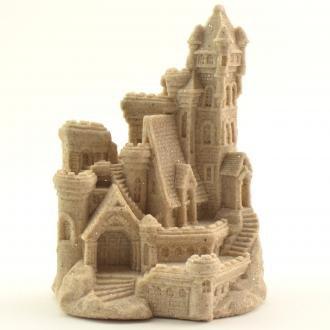 """Sand-Deco Sand Castle Figurine Beach Wedding Decor 439 4.5"""" Tall (Natural)"""