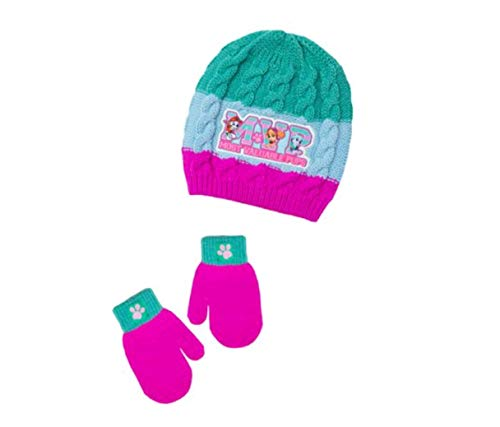 Paw Patrol MVP Beanie and Mittens 2 Piece Set for 2T-5T