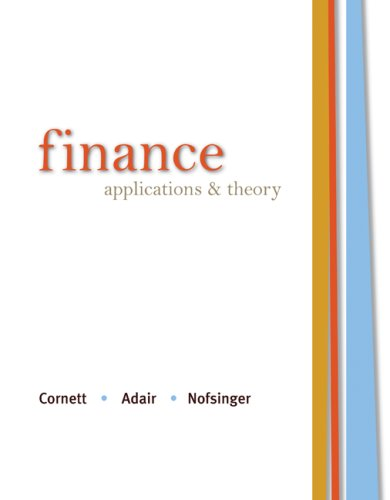 Finance: Applications and Theory (McGraw-Hill/Irwin Series in Finance, Insurance and Real Estate (Hardcover))