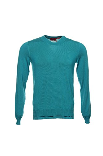 Hugo Boss Green V-Neck Sweater , Size Large by Hugo Boss
