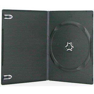 1,000 SLIM Black Single DVD Cases 7MM