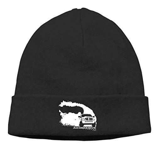 Apparel Diesel Womens (KTSZS Men&Women RAM Burnout Rolling Coal Dodge Diesel Truck Cuffed Beanie Hat Skull Knit Hat Snowboard Hat for Men and Women Black)