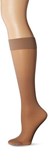 Knee High Support Stockings (Jobst Women's UltraSheer Light Support Knee Highs,Silky Beige, Women's 7-9)