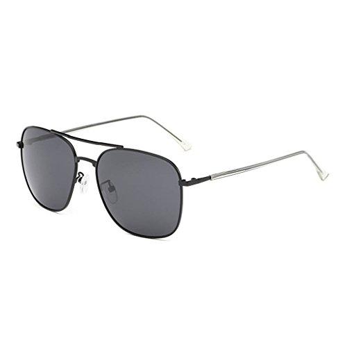 forma de UV400 protección gafas de polarizadas Mujeres cuadrada de 1 Moda conducción Hombres sol Coolsir Gafas Gafas unisex nXz8YY