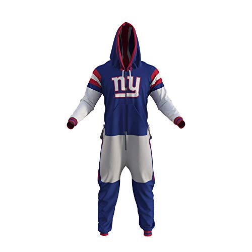 New York Giants NFL Adult Onesie (Large) Blue
