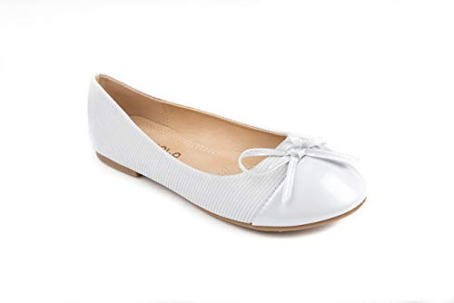 Pipiolo Bow Slip On Ballet Flats - Shoes