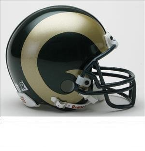 NCAA Colorado State Rams Riddell Mini Replica Football Helmet by Riddell