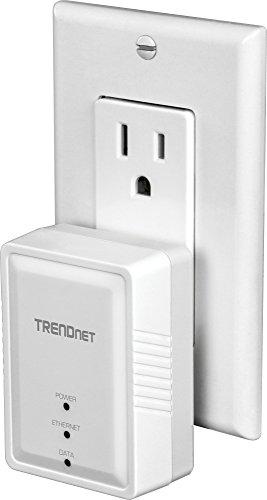 TRENDnet Powerline 500 AV Mini Network Starter Kit, Includes 2 x TPL-406E Adapters, TPL-406E2K