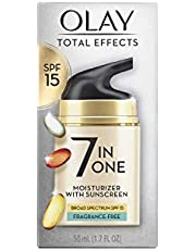 Total Effects 7 in 1 Anti-Aging UV Moisturizer SPF 15 by Olay for Women - 1.7 oz Moisturizer