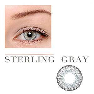 5 Colors Eyes Color Contacts Lens Eyes Cosmetic Makeup Eye Shadow (gray)