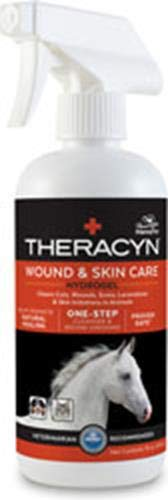 Manna Pro Theracyn Equine Wound and Skin Care Hydrogel,net wt 16 oz