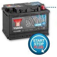 yuasa ybx9096 agm start stop plus battery 12 v 70 ah. Black Bedroom Furniture Sets. Home Design Ideas