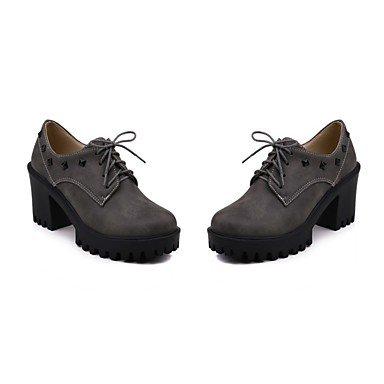 zapatos cerdo WinterWedding Ocasión Materiales de Unisex piel personalizados Suede la Gray confort caída formales luz especial parte Soles Gladiator de Botas SPqa4w4xEB