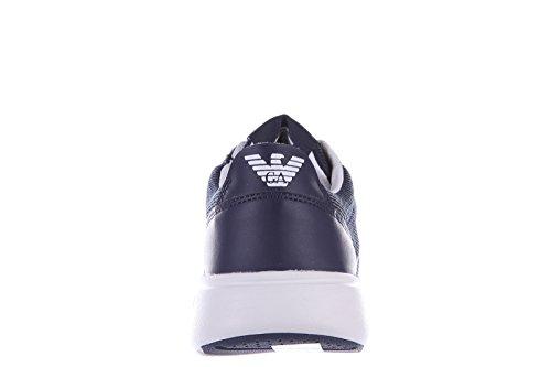 Armani Ea7 Schoenen Schoenen Sneakers Sneakers Eenvoudig Racer Blu