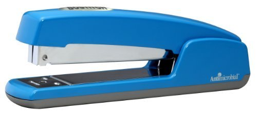 Bostitch Professional Antimicrobial Metal Executive Stapler, Blue (B5000-BLUE) by Bostitch Office