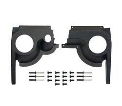 Parts Direct EZGO TXT Golf Cart Speaker Pod Kit Set of 2 Black ABS 1994 & Up