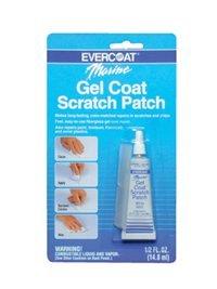 Fiberglass Evercoat Gel Coat Scratch Patch, Buff White ()
