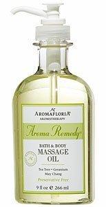 Aromafloria AromaRemedy Bath & Body Massage Oil - 8.4 fl. oz.