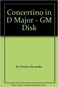 Concertino in D Major - GM Disk General MIDI Disk