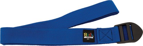 Body Sport Yoga Straps, Blue, 8-Feet