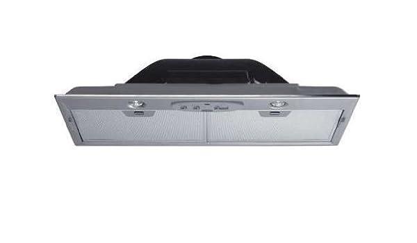 Franke FBI 502 XS 400 m³/h Encastrada Acero inoxidable - Campana (400 m³/h, Canalizado, 50 dB, 67 dB, Encastrada, Acero inoxidable): Amazon.es: Hogar