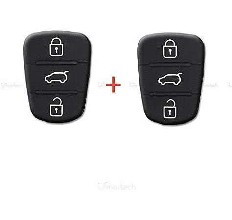 Hyundai - Carcasa de llave para mando a distancia de 3 ...