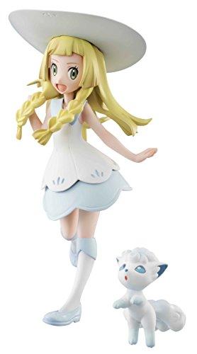 Megahouse Pokemon: Lillie & Snowy (Alola Vulpix) GEM PVC Figure
