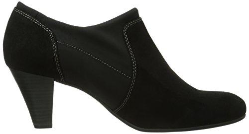 4 Black 23 9 Donna Nero Caprice 24401 Suede Slippers 9 O8tnx0